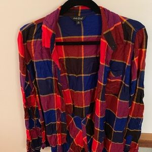 Lucky Brand Flannel worn TWICE